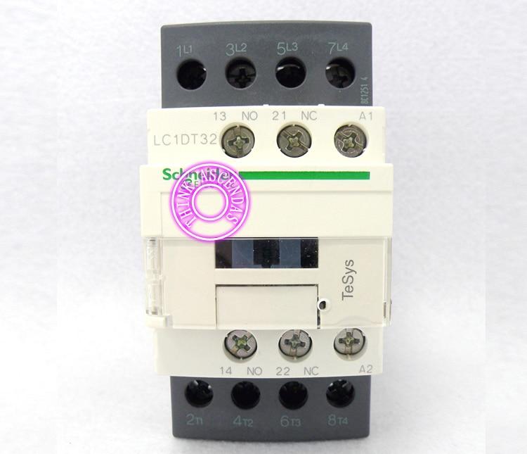 LC1D Contactor LC1DT32 LC1DT32BDC 24V / LC1DT32CDC 36V / LC1DT32DDC 96V / LC1DT32EDC 48V / LC1DT32FDC 110V / LC1DT32GDC 125V DC lc1d series contactor lc1d25 lc1d25bdc 24v lc1d25cdc 36v lc1d25ddc 96v lc1d25edc 48v lc1d25fdc 110v lc1d25gdc lc1d25jdc 12v dc