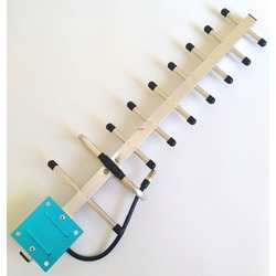 13dbi 9 Unit 806-960 Mhz External Outdoor Yagi Antenna With F Connector For Mobile Phone GSM CDMA signal booster antenna