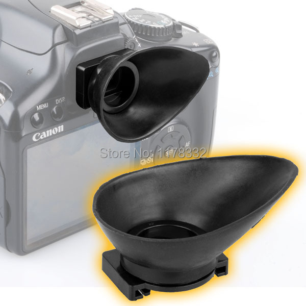 US $3 58 |EyeCup 18mm for Canon Rebel XTi XSi T1i XS 5D Mark II free  shipping worldwide +tracking number-in Photo Studio Accessories from  Consumer