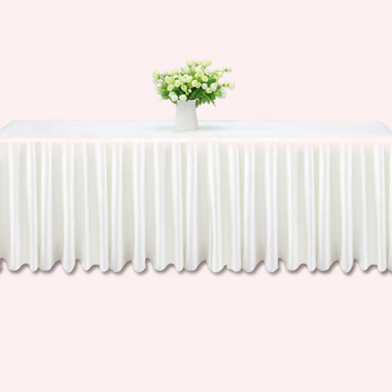 Online buy wholesale table skirting from china table for Table skirting