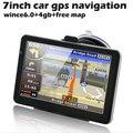 Dropshipping 7 pulgadas HD GPS Del Coche de la Navegación FM DDR/800 MHZ Mapa Actualización Gratuita de Rusia/Bielorrusia/España/europa/EE. UU. + Canadá/Israel