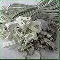 Cabos de linha de caixa de luz T5 T8 conduziu a iluminação tubo t8 kit suporte da lâmpada fluorescente base da lâmpada linha lâmpada cabo conector de encaixe clips