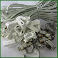 T5 T8 cables light box line led lighting t8 tube kit fluorescent lamp line lamp base cable fitting connector lamp holder clips