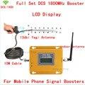 13db yagi + LCD del teléfono móvil 2G 4G potenciadores de la señal GSM DCS 1800 mhz, DCS teléfono celular 1800 repetidor de señal DCS amplificador de señal
