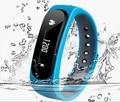 Smartband E02 gimnasia salud rastreador deporte pulsera Wristband impermeable para IOS Android banda inteligente 4.0 Bluetooth reloj inteligente