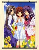 Clannad Season 1 & 2 Home Decor Anime Japanese Poster Wall Scroll Hot