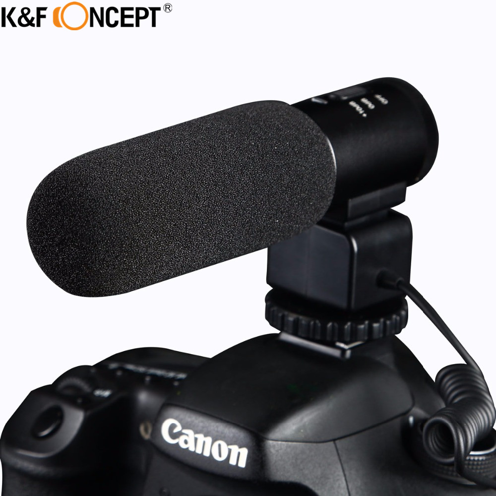 Professional Interview Studio Condenser Mic Microphone Conference Stereo For DSLR SLR Camera Camcorder Video For DC