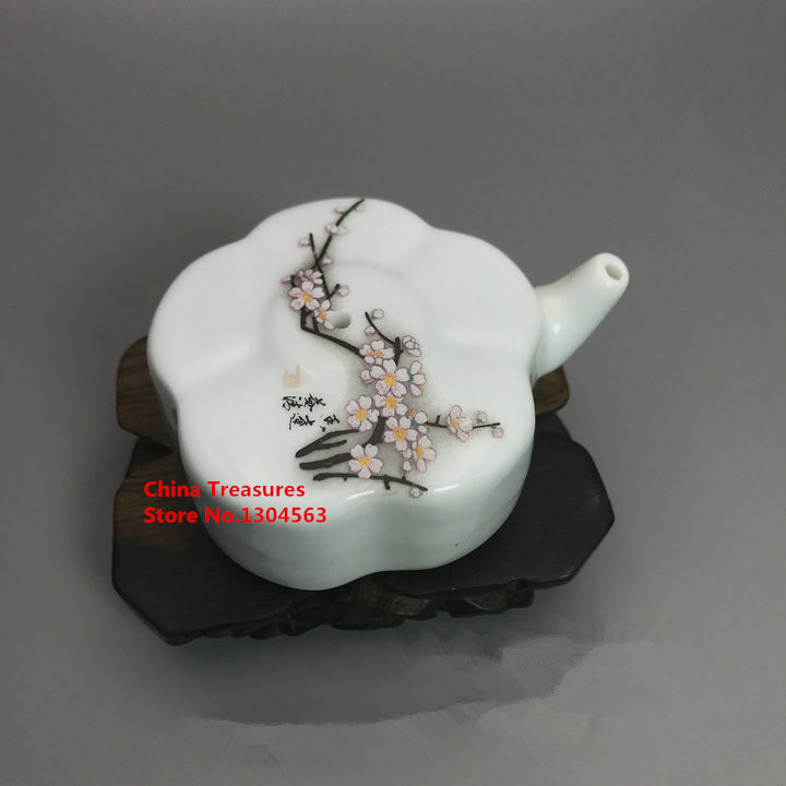 Chinese Calligraphy Tool Ceramic Waterdrop For Ink Calligraphy Chinese Painting