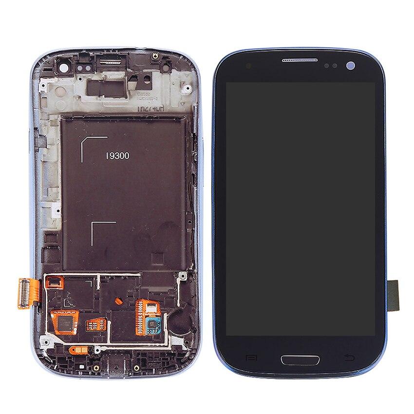 Pour Samsung Galaxy S3 i9300 i9305 i535 i747 L710 T999 i9300i i9301 i9301i i9308i ÉCRAN LCD Écran Tactile Remplacement de Numériseur