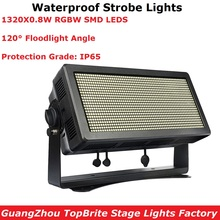 1000W RGBW 4IN1 LED Waterproof Strobe Lights Professional Stage Lighting Projector Outdoor For DJ Club Partys