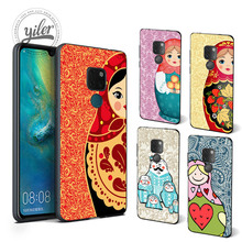 Fashion Matryoshka For Case Huawei Mate 20 Pro Cover 10 lite pro 9 Cases for Honor 7X 8X 8
