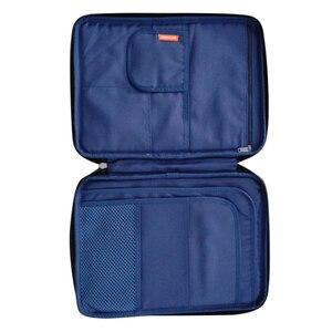 Image 5 - Panno di Oxford Multi Funzionale A4 Grande Cerniera Capacità Ufficio Portatile Impermeabile Per Notebook sacchetto di Immagazzinaggio Unisex Borsa Per Documenti
