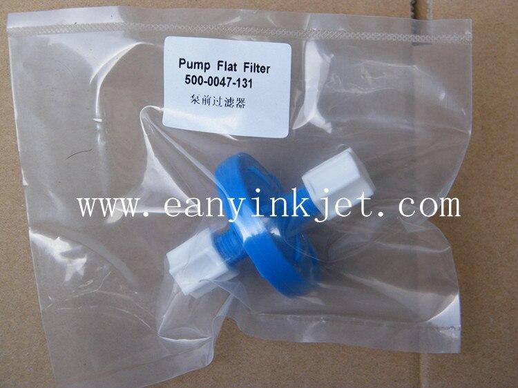 Willett pump flat filter 500 0047 131 Willett pre pump filter for Videojet Willett 430 43s