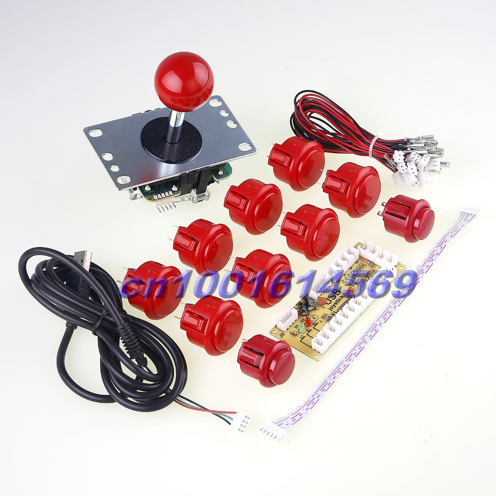 New Original Sanwa Arcade Game DIY Parts for USB Mini MAME Cabinet DIY Projects & Raspberry Pi RetroPie Arcade DIY Projects original 95% new used for glanz washing machine blade electronic door lock delay switch