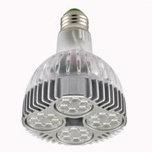 Free shipping LED Spotlight 40w PAR30 OSRAM Light E27 Spot lamp Bulb PAR 30 indoor Lighting 85~265V CE ROHS warranty 2 years цена