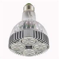 O envio gratuito de LED Spotlight 40 w PAR30 OSRAM Luz E27 Bulbo da lâmpada Spot PAR 30 40 w interior Levou Blub iluminação 85 ~ 265 v CE ROHS|light cheer|led light sensor arduino|light rail led -