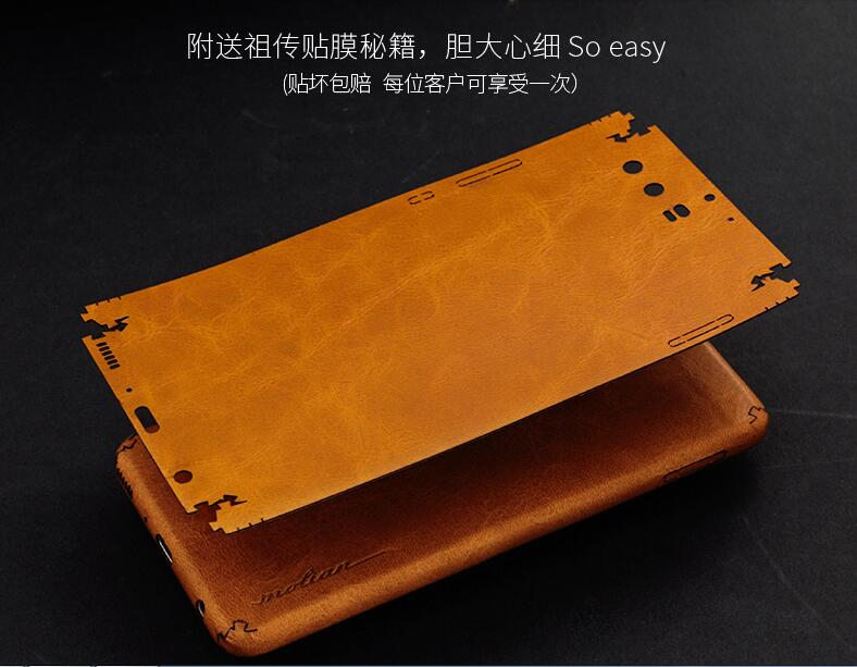 imágenes para Huawei p10 case cuero genuino. diy hecho a mano 360 todo forrado en cuero de la contraportada para huawei p10 plus con el seguimiento código.