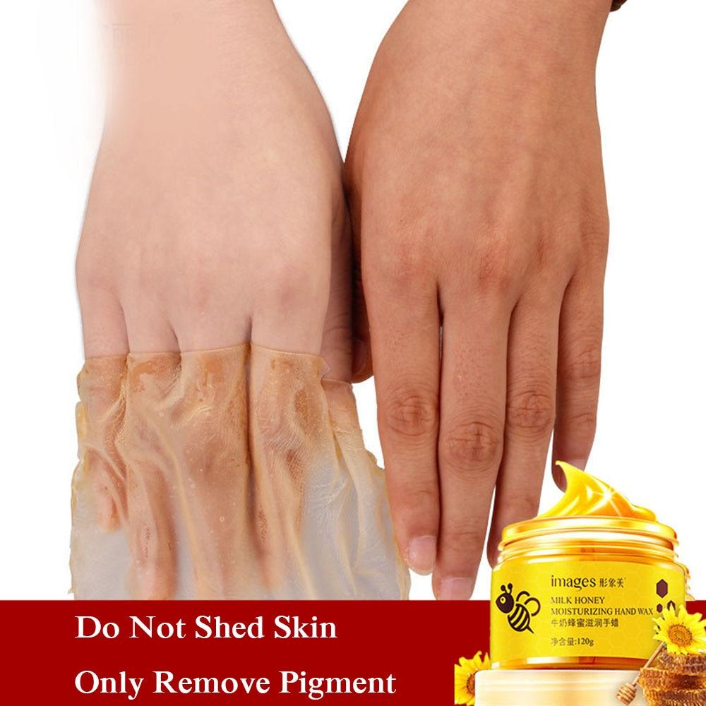 Milk Honey Hand Wax Whitening Moisturizing Nourishing Anti