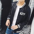 Good Quality 123 COME Letter Print Motorcycle Leather Jacket Raglan Long Sleeve 2016 New  Mens Punk PU Leather Bomber Jackets