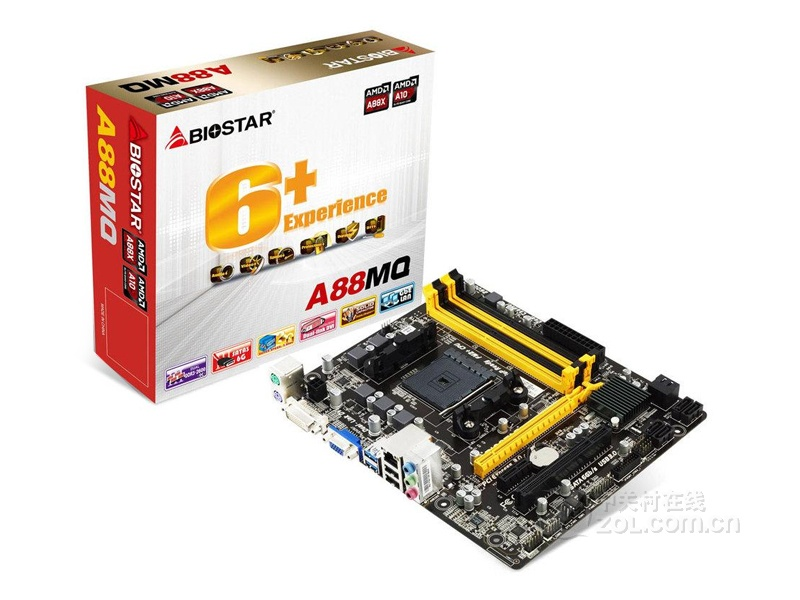 Biostar TA55A AMD Chipset New