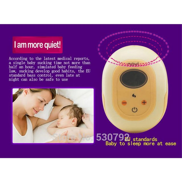 Ncvi nueva gran succión de una sola bomba eléctrica para el pecho alimentación de bebé BPA bomba de leche de pecho USB Power regalo envolver XB-8617
