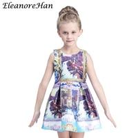 EleanoreHan Brands 2016 New High Quality Europe Summer Kids Children S Girl Dress Princess Dresses For