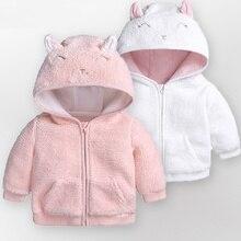 Baby Girls boys Jackets Winter autumn Outwear Lamb velvet Ga