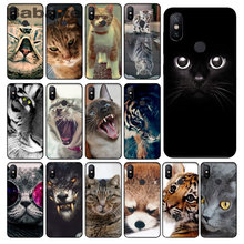 Cool Tiger Uil Kat Hond Cartoon Geschilderd Siliconen TPU Zachte Siliconen Phone Case Cover Voor Xiaomi MAX2/3 Note2 3 Redmi5 5plus MI8 6(China)