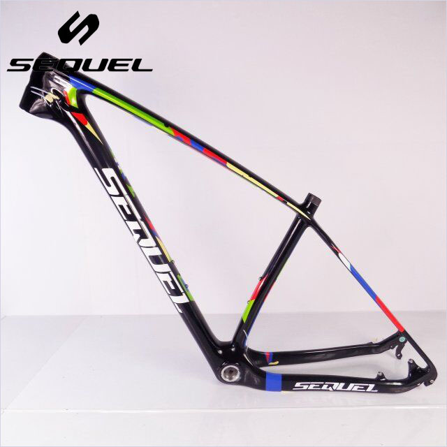 0b473a7c239 SEQUEL 142*12mm 15/17/19 inch carbon bike frame Bicicletas mountain bike 29