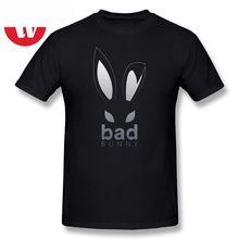 Bad Bunny T-Shirt The Trap Reggae Music Funny T Shirt Awesome Classic T shirts Summer Men Plus Size 3XL Short Sleeve Tee Shirt t shirt bunny white