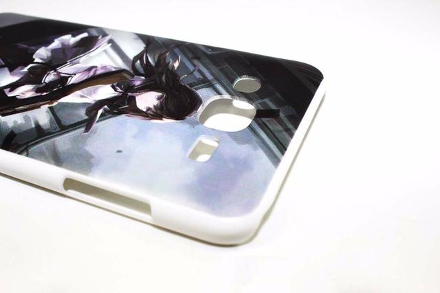 Naruto Hard White Plastic Case Cover for Samsung Galaxy