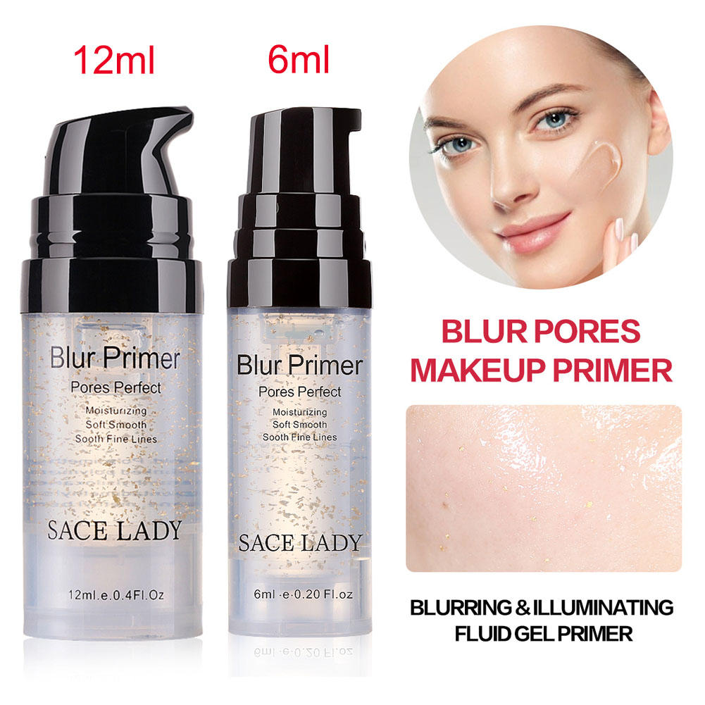SACE LADY Facial Care Foundation Primer Lotion Blur Primer Makeup Base Face Oil Control Matte Make Up Conceal Pores Силиконы