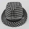 Primavera moda Fedora sombreros para hombre Jazz Chapeu Masculino panamá sombreros de ala envío gratis MEDB-001