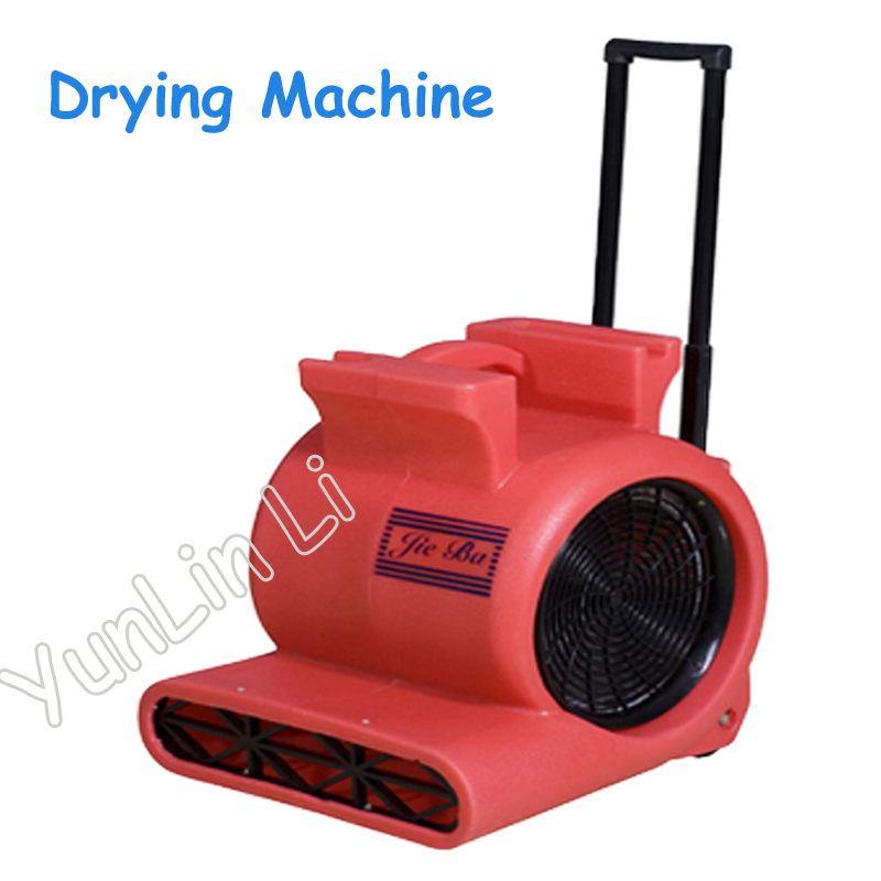 Strong Three-Speed Drying Machine Electric Carpet Cleaning and Drying Machines with Pull Rod Dehumidifier 220V BF535