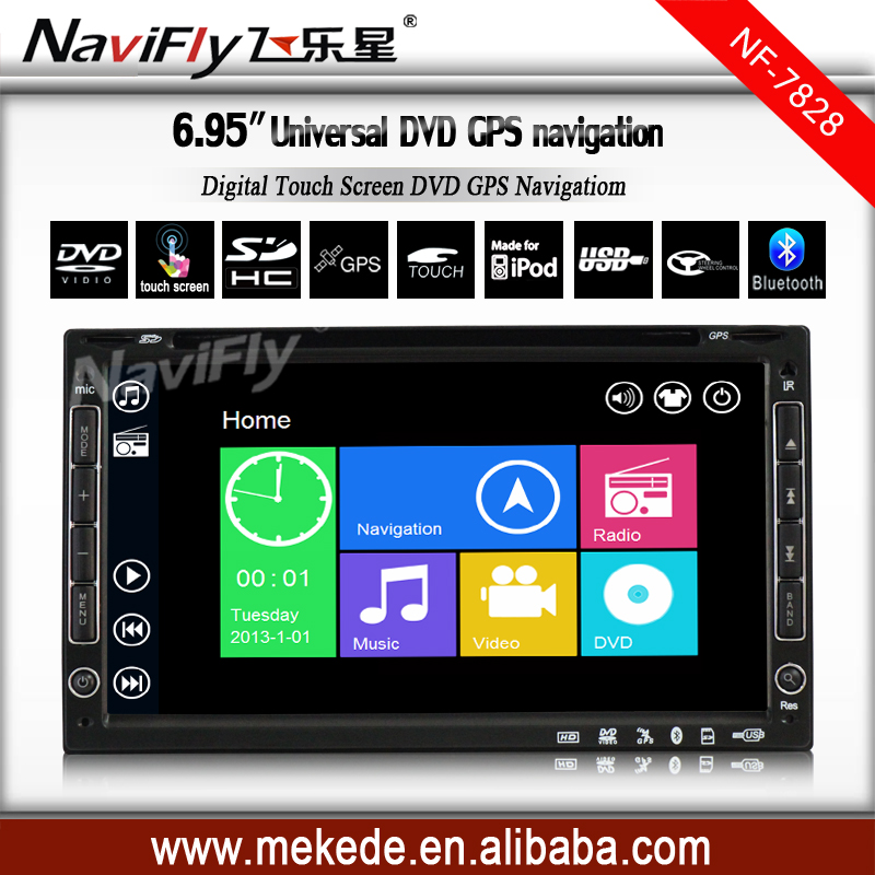 2016 Car DVD Player GPS Navigation 2din in dash WIDE SCREEN TFT Touch Screen head unit USB SD Bluetooth TV FM AM subwoof