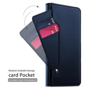 Image 2 - Için UMIDIGI A7 Pro A5 Pro kılıf lüks deri cüzdan Flip standı darbeye dayanıklı kapak için ayna ile UMIDIGI A3X durumda kart tutucu
