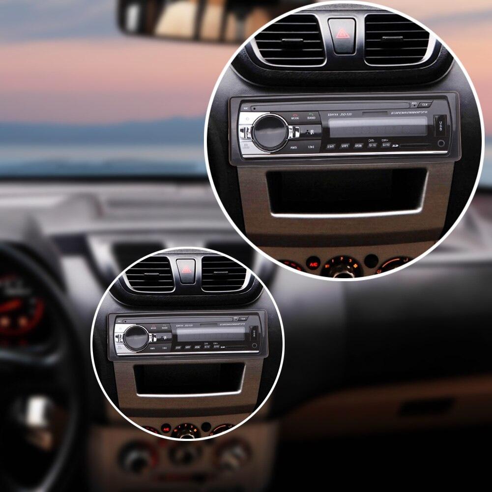 Auto Car Radio 1 Din 12V Bluetooth V2.0 Car Audio Stereo Music MP3 Radio Player Support FM Aux Input Receiver SD USB MMC WMA 12v bluetooth stereo car radio audio player in dash fm aux input receiver sd usb mp3 mmc 2 x 6 inch auto coaxial loud speaker