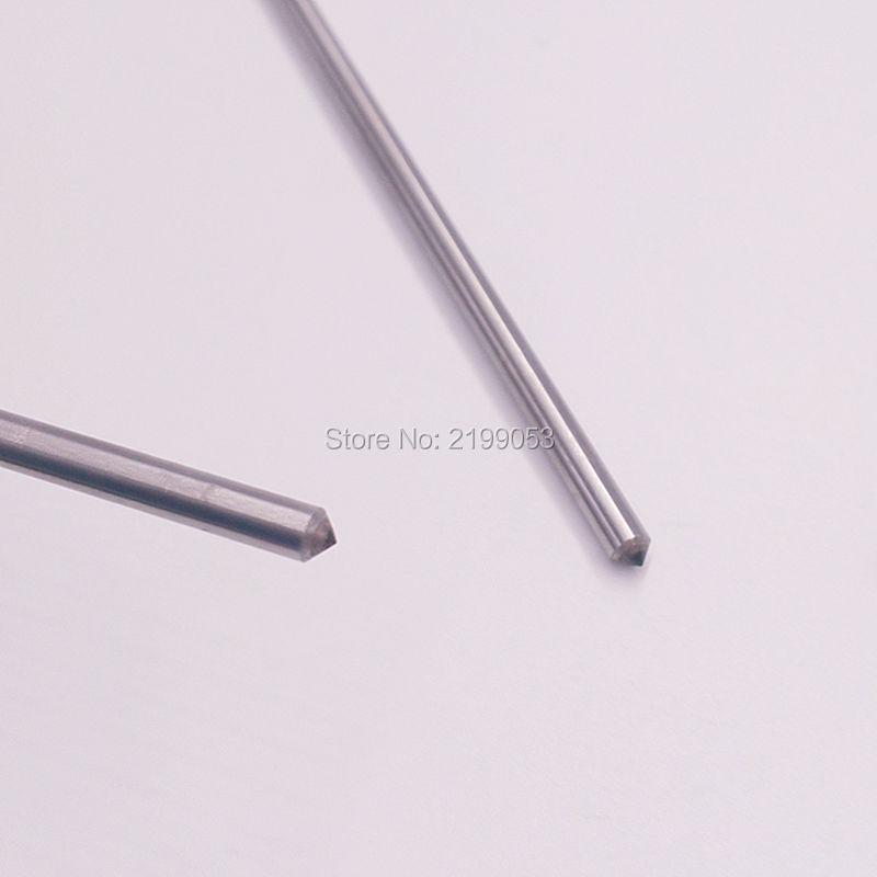 10 pz / lotto Fresa per incisione a punta incisore dremel 3 mm e - Accessori per elettroutensili - Fotografia 3