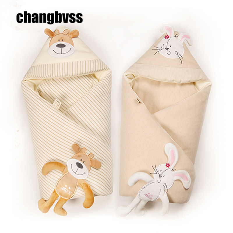 Cotton Newborn Swaddle Wrap Soft Baby Receiving Blanket Baby Swaddling Sleeping Blankets Baby Bedding Air Conditioning Blanket baby blankets newborn cute heart shape knitting blanket soft infant bedding baby blanket sleeping knitted wrap for 0 6y age