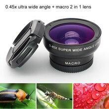 Mobile Phone Wide Angle Macro Lenses Uni
