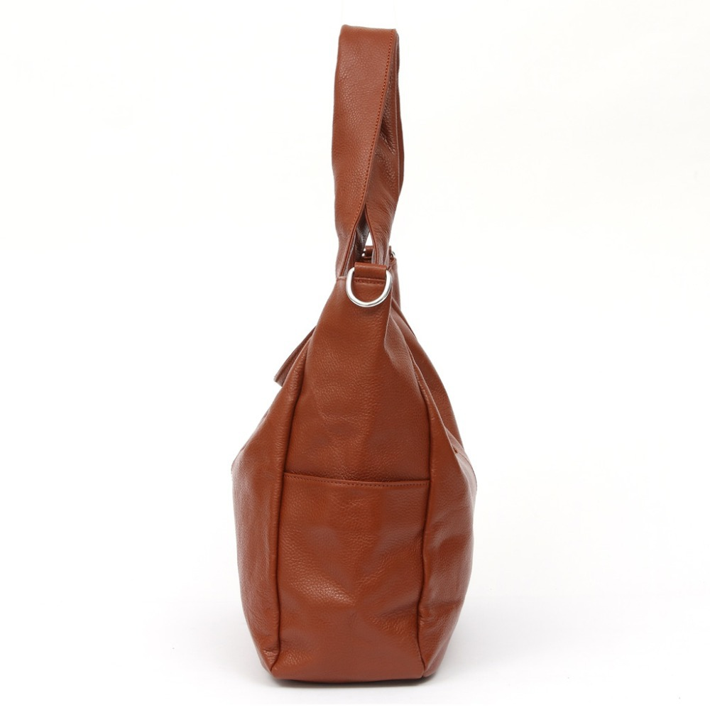 3 Size Casual NEW Fashion Big Bags Ladies Large 100% Genuine Leather Women's Shoulder Handbag Bucket diagonal Purse Satchel