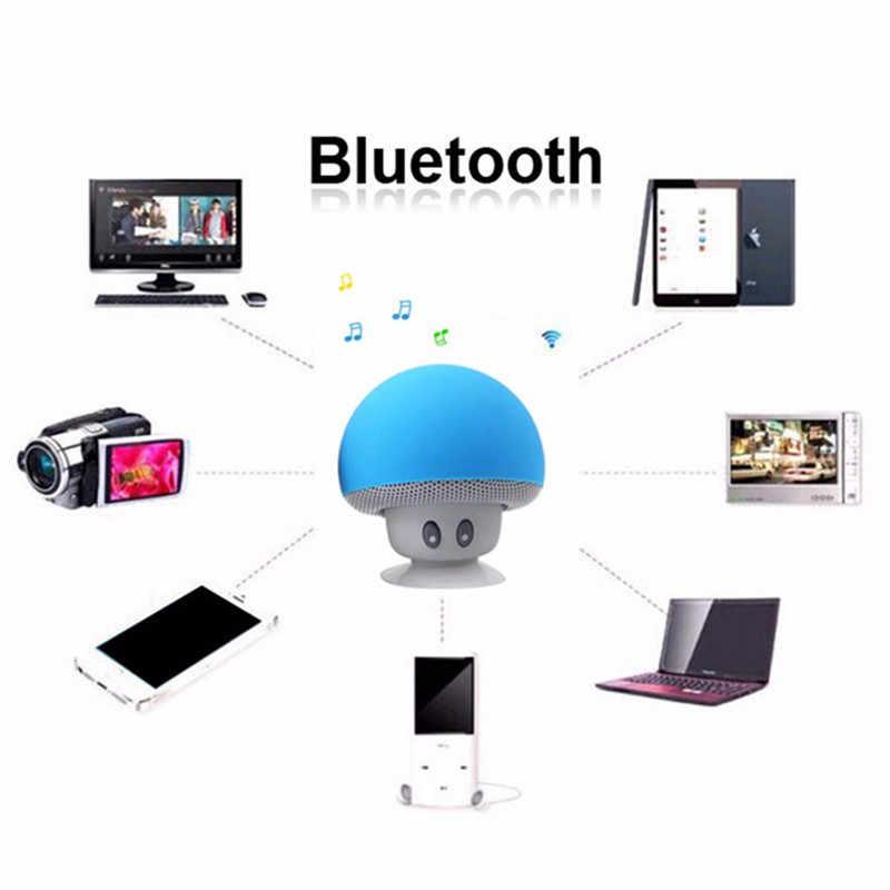 Беспроводной мини Bluetooth динамик Портативный Гриб водонепроницаемый стерео Bluetooth динамик для мобильного телефона iPhone Xiaomi компьютер ПК