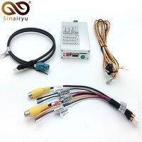 Умный обратный Камера Интерфейс для Audi MMI 3g/3g + A1 Q3 A4 A5 Q5 A6 A7 Q7 A8 с интеллигентая (ый) динамический траектории парковки линии