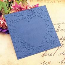 Горячие пластиковые любовь шаблон ремесло карты делая бумага, карточка, альбом Свадебные украшения Скрапбукинг папки для тиснения