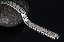 Модные украшения золото-Цвет Нержавеющая сталь инфракрасного магнитного Браслеты мужчин Германий отрицательный модные