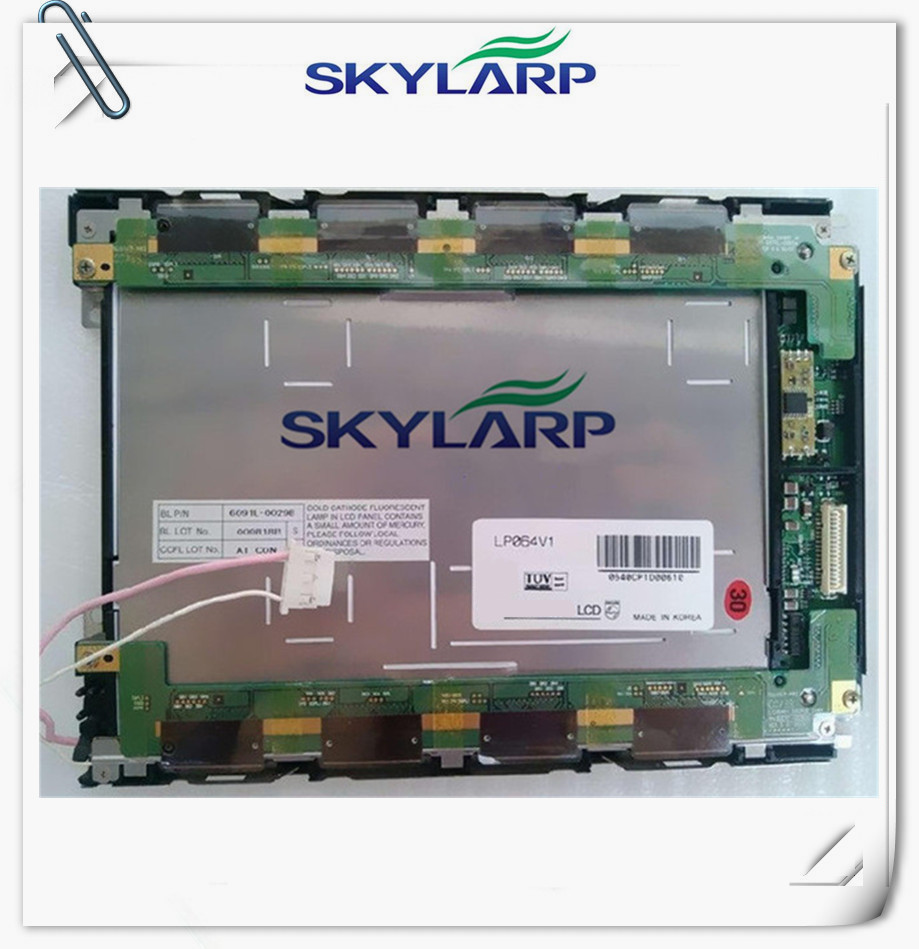 6.4inch LCD screen panel LP064V1 Industrial application control equipment LCD display panel free shipping