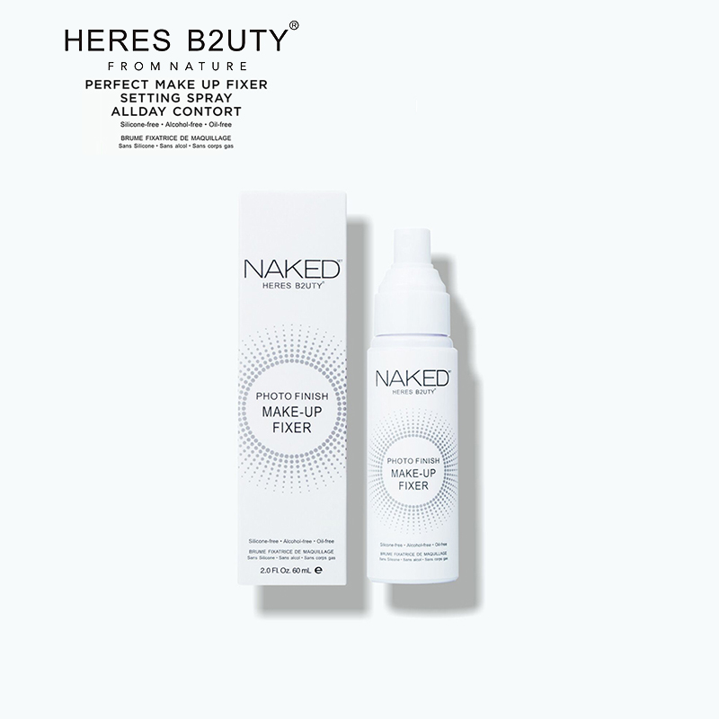 HERES B2UTY Photo Finish All Day Makeup Fixer Finishing Setting Spray Long lasting Natural Silicone/Alcohol/Oil-Freeshipping