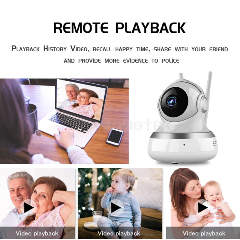 IP Camera Wi fi Mini camera HD Video Surveillance Home Security CCTV Camera 1080P Night Vision Plug And Play 720P Wireless Ipcam in Baby Sleeping Monitors from Mother Kids