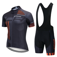 CAPO 2019 Summer Short Sleeve Cycling Jersey Set Cycle Clothing Ropa Ciclismo Cycle Maillot Clothing uniformes hombre