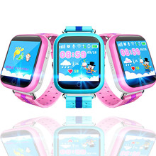 GPS Smart Watch Q750 Q100 Kids with 1.54inch Touch Screen SOS Call Location Device Tracker for Kid Safety